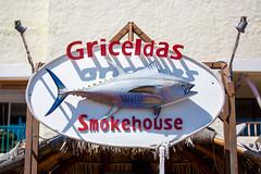 Griceldas Smokehouse (Thomas Hawk) Tags: vacation fish sign mexico restaurant cabo bajacalifornia baja cabosanlucas loscabos griceldas griceldassmokehouse