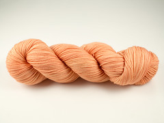 Peach - Merino Fingering