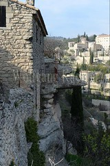 40080107 (wolfgangkaehler) Tags: cliff house france rock french rocks europe european medieval provence luberon gordes vaucluse stonehouse 2016 provencealpescotedazur cliffsidehouse