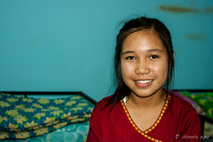 Portrait of a Karen Tween 6059 (Ursula in Aus - Away) Tags: thailand thep maehongson