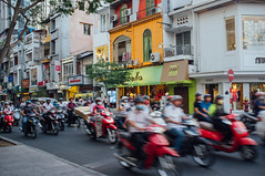 Saigon traffic (Premshree Pillai) Tags: vacation traffic vietnam saigon hcmc sabbatical saigonfeb16
