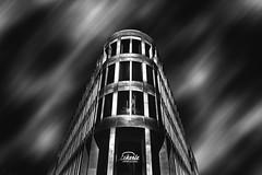 Fineart (patrickmai875) Tags: street bw white black building art clouds canon f14 kunst fineart sigma symmetry sw monochrom gebude schwarz 6d geometrie symmetrie weis strase