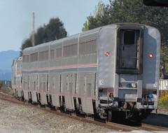 Amtrak Empire Builder (zargoman) Tags: seattle railroad travel chicago cars car train rail amtrak transportation transit passenger edmonds snohomish empirebuilder superliner