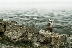 Pescador en la niebla (ebarria_alpha) Tags: chile morning travel blue fish pez art nature water beauty rio wow river landscape gold amazing cool fantastic fishing view sony awesome great creative dream best dreams imagine 37 moment alpha tamron niebla pescador valdivia pescando increible