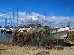 La Manga del Mar Menor.Cartagena (Ruben Juan) Tags: espaa beach canon spain barco playa powershot murcia lamanga marmenor cartagena bote g12
