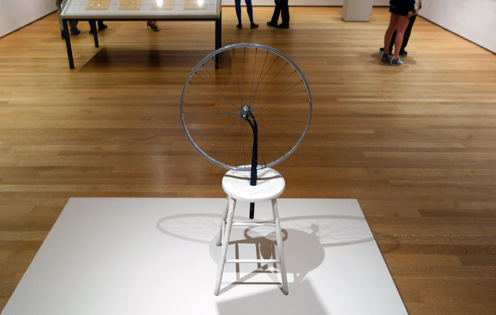 marcek duchamp readymades the bicycle wheel essay Fountain is the most famous of duchamp's so-called ready  career to date and placed the fountain firmly in the context of duchamp's readymades.