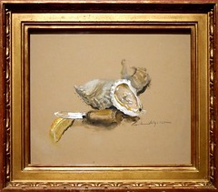 Wyeth Oysters by Andrew and Jamie Wyeth 2007 from the Exhibition Wyeth: Andrew and Jamie in the Studio (Travel to Eat) Tags: wyeth andrewwyeth jamiewyeth