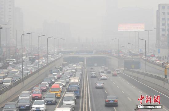 去年12月空气质量最差十城:河北占七席