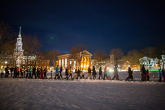 Candlelight on the Green (Dartmouth Flickr) Tags: students night campus dartmouth martinlutherkingjr thegreen