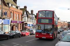 Metroline VP468 - LK03 GKG (Snappy Pete) Tags: uk greatbritain england bus london buses transport shops middlesex harrow londonbuses pinner metroline
