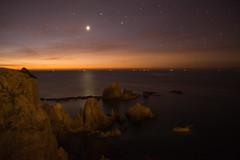 La sombra de Venus Cabo de Gata 2 Enero 2016 (carlosjarnes) Tags: cabo bravo venus sombra andalucia amanecer nocturna gata