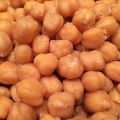 "These chickpeas are on the dinner menu tonight. They roasted in the oven this afternoon and are now bubbling away in a curry sauce on the stove. Oh, it smells delicious!  #1840farm #farmhousekitchen #curry #chickpeas • <a style=""font-size:0.8em;"" href=""http://www.flickr.com/photos/54958436@N05/24048188830/"" target=""_blank"">View on Flickr</a>"