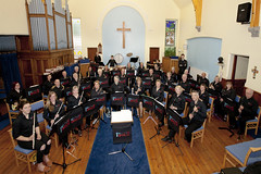 Two Rivers Concert Band Rehearsal July 2015