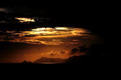 Sunset Mountain 2 (Fabio Sola Penna) Tags: sunset orange sun mountain rio de nice janeiro da barra tijuca beaultiful