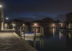 murano (conteluigi66) Tags: luci acqua riflessi notte lampioni canale crepuscolo nikonflickraward luigiconte