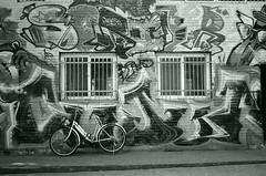 Street Scene - Seoul (Shoji Kawabata. a.k.a. strange_ojisan) Tags: street blackandwhite white black film analog 35mm alley asia fuji streetphotography delta s korea alleyway seoul streetphoto 3200 ilford analogphotography klasse eastasia    analogphoto filmphotography  filmphoto