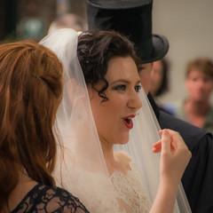 Surprize! (Matt H. Imaging) Tags: street wedding maastricht bride sony tamron slt a55 sonyalpha slta55v tamron18270pzd ©matthimaging