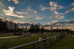 Atardecer! (Demiand26) Tags: santa parque sky people naturaleza sunrise gente rosario fe beatiful resplandor