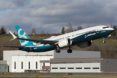 Boeing 737-8 MAX (Stiggy84) Tags: seattle canon boeing 737 boeingfield 24105l 60d 737max