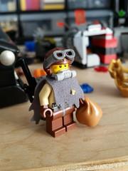 Postapoc survivor #lego #minifigure #custom (skyler14807) Tags: lego custom minifigure