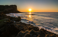 (http://martographyau.blogspot.com.au/) Tags: ocean sea sun seascape nature water sunrise coast nikon rocks waves australia tokina