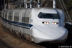 JR West 700-3000 series set B3, aside Otsu Tunnel (double-h) Tags: train  shinkansen superexpress jrwest  jr 700series  700 sanyoshinkansen  akocity  eos7dmarkii ef100400mmf4556lisiiusm b3 7003000 otsutunnel 7003000series setb3