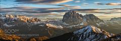Sassolungo View (AleshaOleg) Tags: mountains south tyrol dolomites odle puez sassolungo