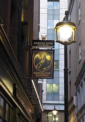 The new sign in Craven Passage (photo by Roger Johnson)