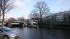 Tram & brug 12 (Peter ( phonepics only) Eijkman) Tags: city holland netherlands amsterdam transport nederland bridges tram rail rails trams noordholland gvb combino nederlandse bruggen