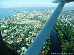 Belize City from the air (Hickatee) Tags: forest rainforest belize wildlife culture toledo jungle puntagorda belizecity hickatee hickateecottages hickateebelize hickateepuntagorda