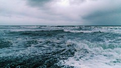 Messy waves (Domhnall Iain) Tags: waves stormy messy