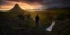 [ ... dawn of a new day ] (D-P Photography) Tags: morning light summer sun sunrise dark island mood landschaft kirkjufell selfie landsape snaefellsnes feisol icleand dpphotography grundarfjödur dennispolkläser