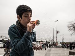 . (badlikamiri) Tags: street turkey toy child streetphotography bubbles olympus istanbul sp 18 omd eminonu 17mm omdem10