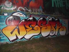346 (en-ri) Tags: parco muro wall writing torino graffiti dora rosso azzurro arancione wesok