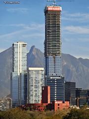 Torre Koi en construccin Enero 2016 (vicraya2 2015) Tags: mxico de la san torre valle pedro cerro silla koi oriente construccin len monterrey nuevo garza garca