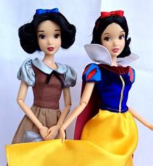 Snow White - Before & After (honeysuckle jasmine) Tags: white snow store dolls princess disney seven dwarfs