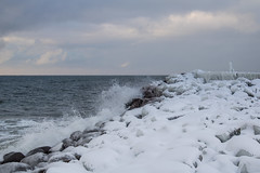Icy (Infomastern) Tags: winter sea snow cold ice water is vinter sn vatten hav stersjn smygehuk kallt