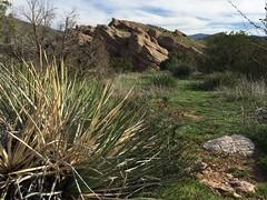 IMG_3564 (lnewman333) Tags: park sky clouds rocks socal southerncalifornia santaclarita vasquezrocks losangelescounty aguadulcecanyon