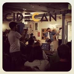 Analizando las #StartUp en el primer #mentordaytfe que participa Cidecan como jurado... y no será el único.