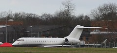 VP-BVG Bombardier BD-700 Global Express at Cranfield 030216 (kitmasterbloke) Tags: airport bedfordshire cranfield aircaft collegeofaeronautics