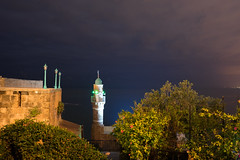 Al-Bahr Mosque Jaffa - Yf (nick88msn) Tags: longexposure night israel telaviv mediterranean mosque jaffa yafo telavivyafo
