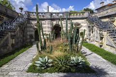 Vizcaya Inner Cactus Garden (Don Thoreby) Tags: cactus gardens stairs arch florida miami steps passages walkways walls mansion fountains archways coconutgrove biscaynebay cactusgarden miamiflorida villavizcaya gardensteps renaissancearchitecture vizcayamuseumandgardens gardenpathways villavizcaya1914 jamesdeeringmansion