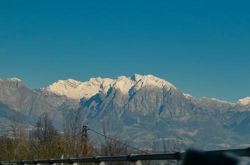 Col Nudo, finally some mountains.