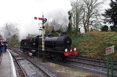 IMGP8397 (Steve Guess) Tags: uk england train engine railway loco hampshire steam gb locomotive bluebell alton 060 ropley alresford hants fourmarks medstead qclass 30541
