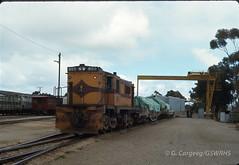 7612A-33 (Geelong & South Western Rail Heritage Society) Tags: australia aus southaustralia peterborough