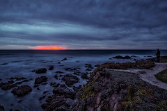 Winter Pacific Sunset (ramprackash) Tags: lighthouse landscapes google halfmoonbay pigeonpoint pacificcoast