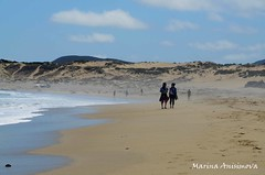 Pichidangui beach, Chile (Marina Anisimova) Tags: ocean friends sea summer sun beach walking coast sand enjoy beachwalking sunnyday