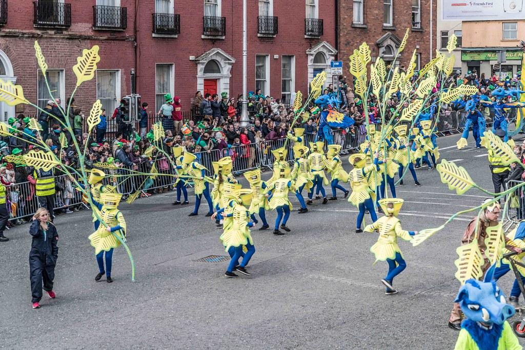 Dowtcha Puppet's At The St.Patrick's Parade [Dublin 2016]-112495