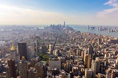 New York City Downtown (Stafford Student) Tags: nyc newyorkcity usa manhattan urlaub empirestatebuilding reise vogelperspektive