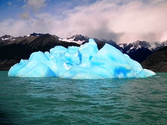 The blue mountain that will slowly fade (magellano) Tags: blue panorama patagonia mountain lake ice argentina landscape lago blu bleu iceberg montagna paesaggio argentino ghiaccio